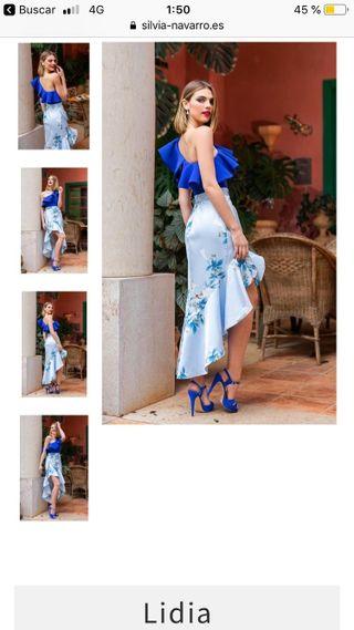 Vestido Sivia Navarro modelo Lidia, talla 36