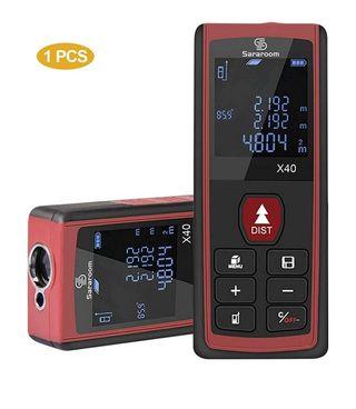 Medidor Laser de Distancia con Pantalla LCD Retroi