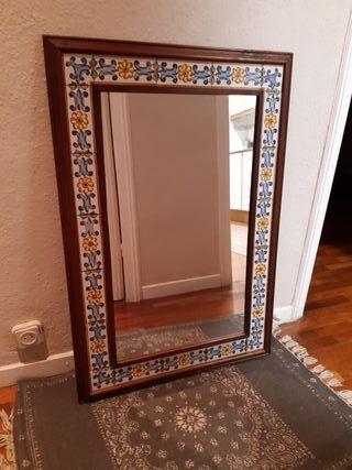 Espejo rustico Rebajado.