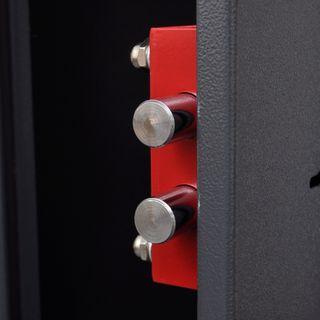 vidaXL Armero con caja de munición para 3 141440