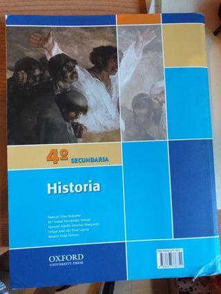 Libro Historia 4° Secundaría.
