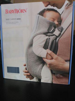 Mochila Portabebés BabyBjörn Mini 3D algodón