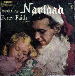 Percy Faith Música de Navidad - Phillips años 50