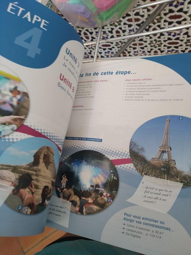 Libro de Francés de 1°bachillerato
