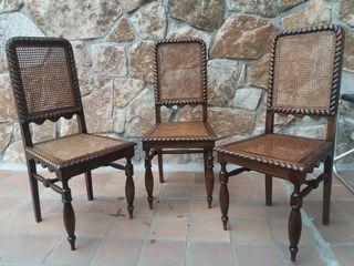 sillas rusticas