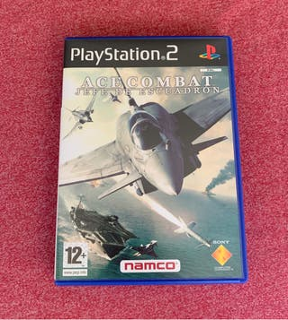 Ace Combat Jefe de Escuadrón. Play Station 2.