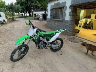 Kawasaki kxf 250 4 tiempos