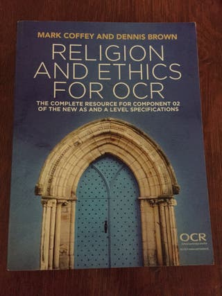 Religious and Ethics For OCR/ ISBN: 9781509510153