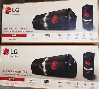 ALTAVOCES LG 600W (cada uno) ¡NUEVOS!