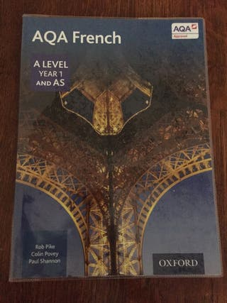 AQA French A Level and AS/ ISBN: 9780198366881