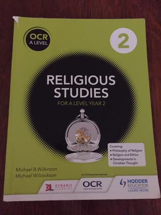 Religious Studies For A Level Year 2
