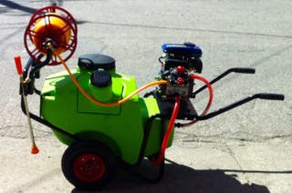 Sulfatadora de carretilla 100 litros NUEVA