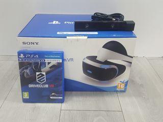 PACK PLAYSTATION VR + CAMARA PS4 + DRIVECLUB VR