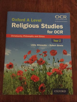 Oxford A Level Religious Studies For OCR Year 2