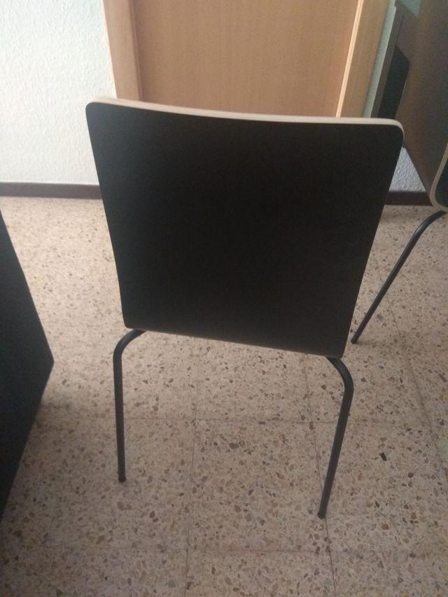 Conjunto mesa y sillas de comedor ikea de segunda mano por ...