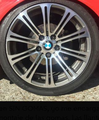"""Cambio por llantas BMW 19"""""""