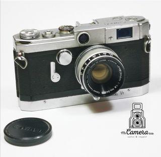 Canon telemétrica VT con 35mm 1.8f doble golpe