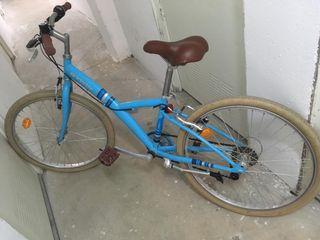 Bicicleta de paseo Btwin 24''