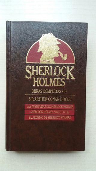 Libro Obras Completas Sherlock Holmes II. Doyle