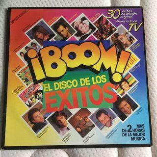DISCO VINILO BOOM 1 EL DISCO DE LOS EXITOS LP POP