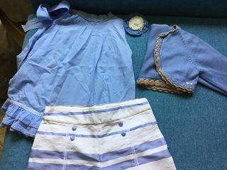 Conjunto Kauli de blusa, pantalón y chaqueta
