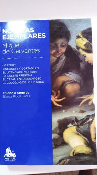 Novelas Ejemplares- Miguel de Cervantes