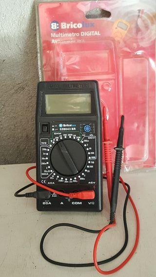Multimetro digital 20 A