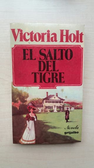 Libro El salto del tigre. Victoria Holt.