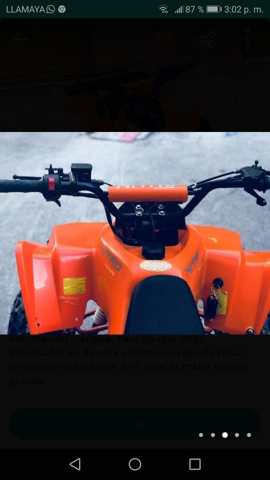 vendo quad o cambio por rieju mrx 50cc