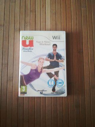 Yoga y pilates Wii