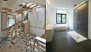 Se realizan reformas de cocinas , baños pisos