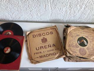 Gramófono de 1900 funcionando