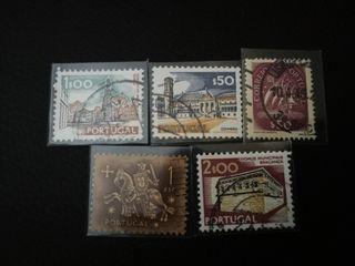 sellos de Portugal