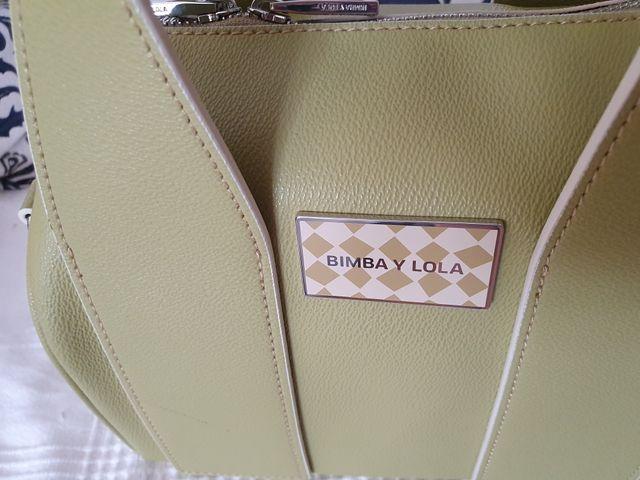Bolso Bimba y Lola verde claro, original
