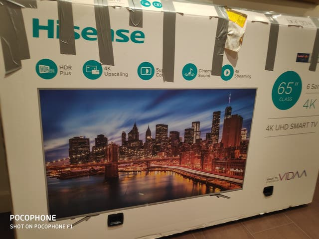 TV Hisense 65 pulgadas HNH6800