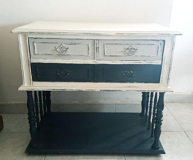 Mueble auxiliar antiguo comoda