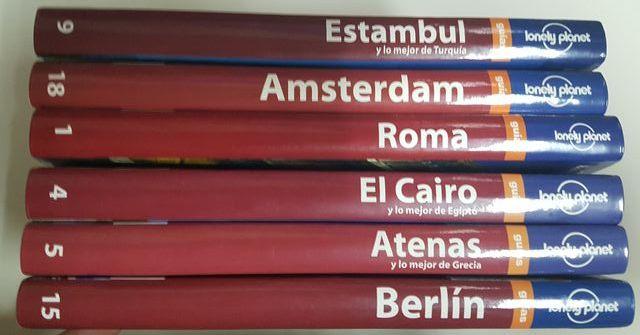 Guías Lonely Planet: Roma/ El Cairo y Egipto