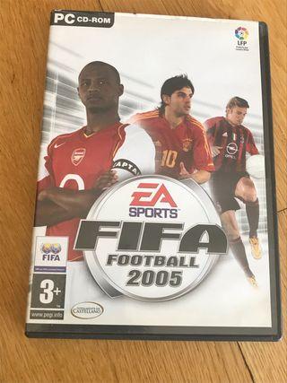 Juego PC FIFA football 2005