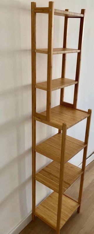 Estantería IKEA madera