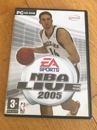Juego PC NBA live 2005