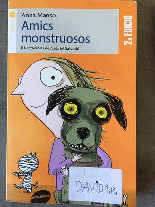 Llibre Amics Monstruosos