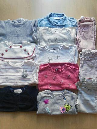 Lote de ropa de niña 2 / 3 años