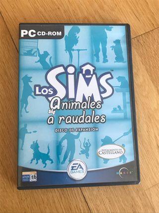 Juego PC los sims animales a raudales