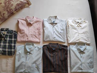 Pack 7 camisas hombre
