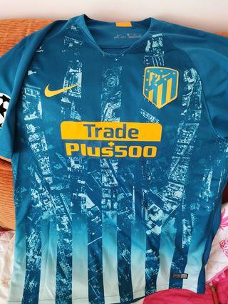camiseta del Atlético de Madrid 3@equipacion xl