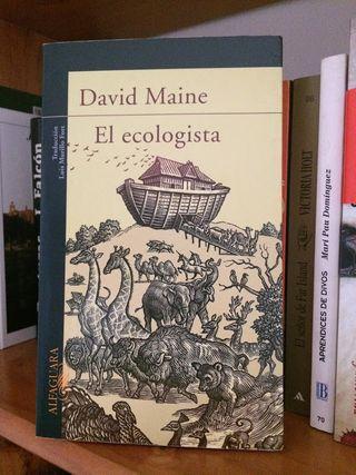 """Libro """"El ecologista"""", de David Maine"""