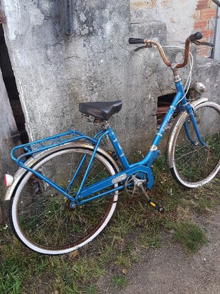 bicicleta antigua lote bh plegable