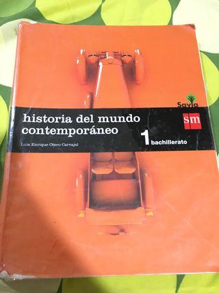LIBRO HISTORIA CONTEMPORÁNEA 1BACH