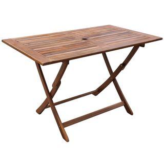 vidaXL Mesa de comedor de jardín madera 41817