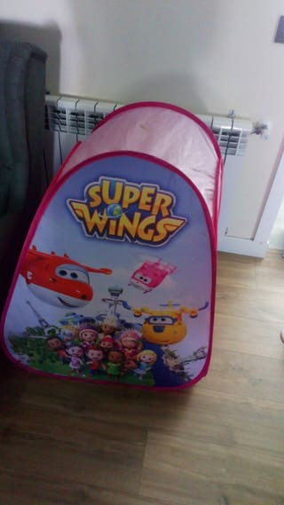 Casita lona Superwings